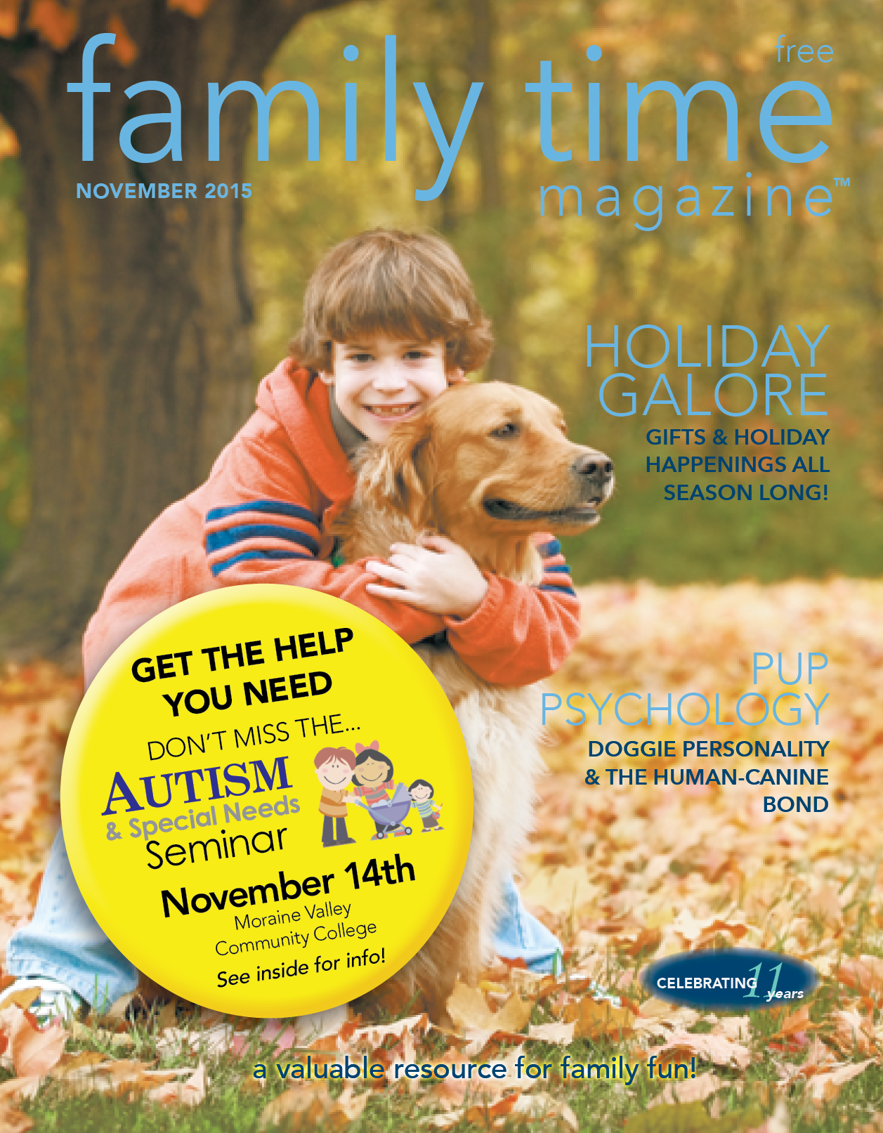 Nov Cover Family Time Magazine